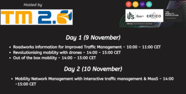 TM 2.0 hosting several sessions at the first Virtual ITS European Congress