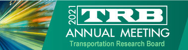 2021 Transportation Research Board Annual Meeting – A Virtual Event: TM2.0 session